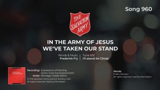Song 960 In the Army of Jesus BRASS MP4