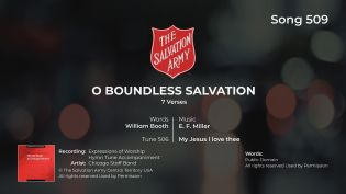 Song 509 O Boundless Salvation 7 Verses BRASS MP4