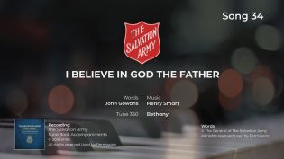 Song 34 I believe that God the Father PIANO MP4