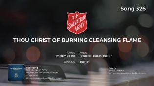 Song 326 Thou Christ of burning cleansing flame (Tucker) PIANO MP4