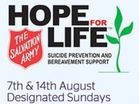 Hope for Life Designated Sundays