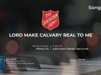 Song 182 Lord make Calvary real to me PIANO MP4