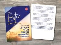 Easter Reflection Cards - Sticker Label Template
