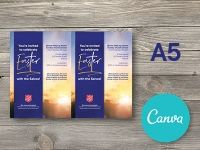 A5 Easter Promotional Flyer - Canva Editable