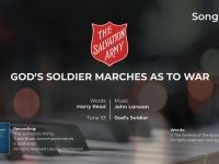 Song 954 God's soldier marches as to war PIANO MP4