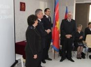 First officers commissioned in Romania