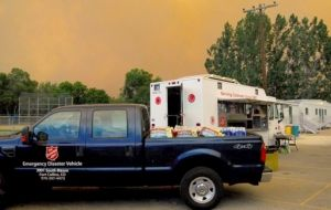 Salvation Army Teams Undertake Wildfire Response in Colorado