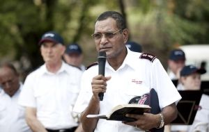 Salvos Launch in Solomon Islands