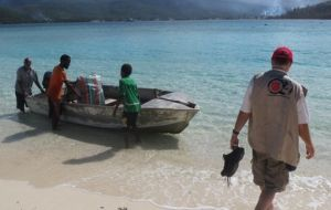 Three Remote Communities on Vanuatu Assisted by The Salvation Army