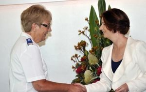 Salvos honoured at Australia Day ceremony