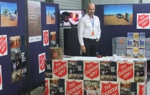 Salvos use Beef Australia 2015 to raise awareness of support services