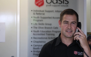 Red Shield Appeal - Oasis Youth Network Hunter