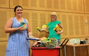 Wagga library turns fines into food for Salvos