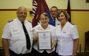 Temora Corps honours transition in leadership