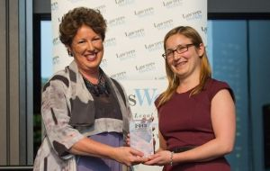 Salvos Legal 'young gun' wins top award