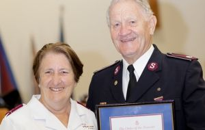 Lieutenant-Colonel Don Woodland awarded Order of the Founder