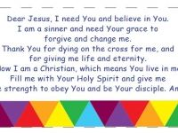 SALVATION CARD (Evangelism tool)