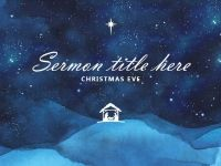 Christmas Church Service PowerPoint Templates