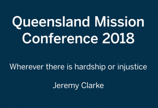 QLD Mission Conference DHQ 2018 - Jeremy Clarke