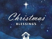 'Happy Christmas' & 'Christmas Blessings' Social Media Graphics