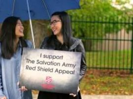 Australia supports the Salvos Red Shield Appeal