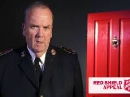 2015 Red Shield Appeal Doorknock - volunteer thank you