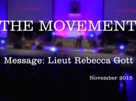 The Movement 2015 - Message: Lt Rebecca Gott