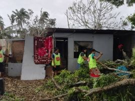 Salvation Army responds after Cyclone Gita devastates Pacific island nations